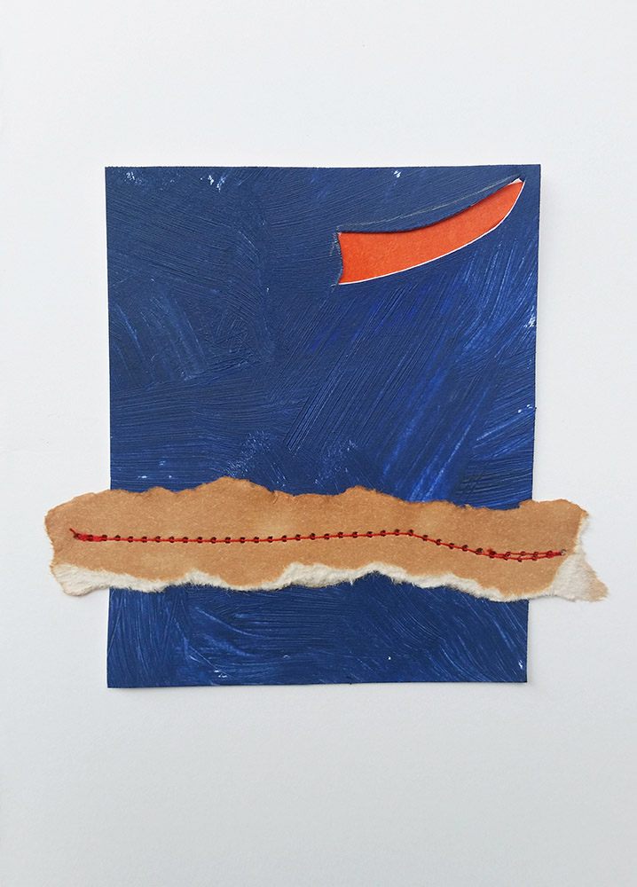 collage-card-with-blue-painted-paper-and-tea-stained-paper-and-thread-web-optimized