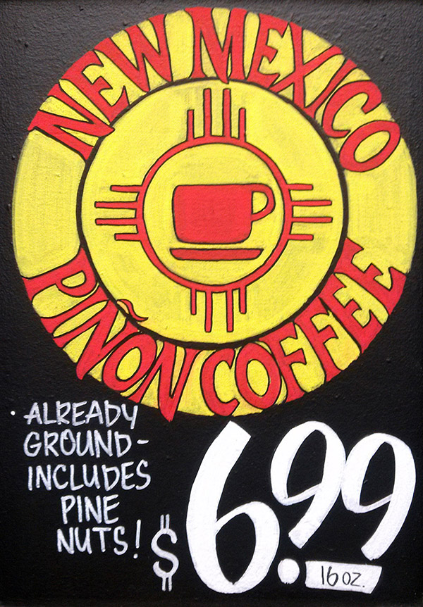 handpainted-sign-new-mexico-pinon-coffee-tasting-optimized
