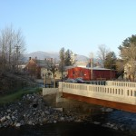 Vermont Studio Center-View from the Red Mill