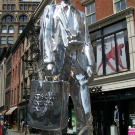 The Andy Monument by Rob Pruitt/Photo by Maura McGurk