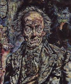 Ivan Albright, The Picture of Dorian Gray (detail)