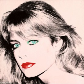 copyright Andy Warhol, 1980, 40 in x 40 in