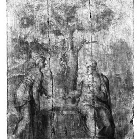 Michelangelo, Christ and the Woman of Samaria