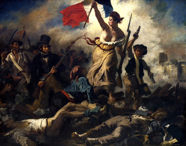 Liberty Leading the People, by Eugene Delacroix, 1830
