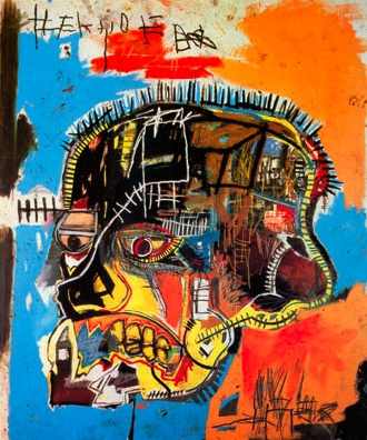 """Untitled (Skull)"", Jean-Michel Basquiat, 1984"