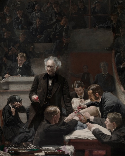 The Gross Clinic, by Thomas Eakins, 1875