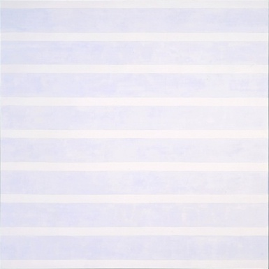 Agnes Martin, The Tree, 6 feet by 6 feet