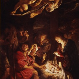 Peter Paul Rubens, Adoration of the Shepherds, 1608