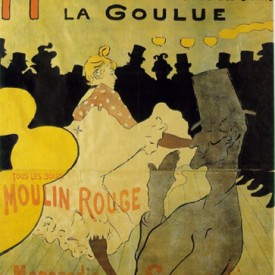 Toulouse-Lautrec, Moulin Rouge, lithograph