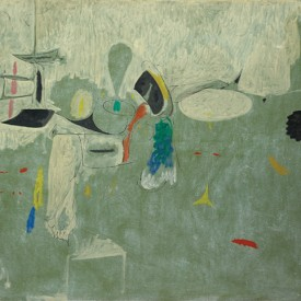 Arshile Gorky, The Limit, oil and paper on canvas, 1947