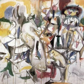 Arshile Gorky, How My Mother's Embroidered Apron Enfolds in My Life, 1944