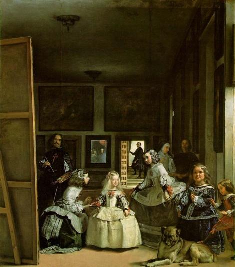 Las Meninas, by Diego Velazquez, 1656