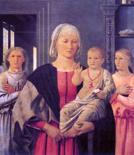 Senigallia Madonna, by Piero della Francesca, c. 1474