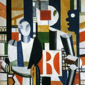 Men in the City, Fernand Leger, 1919