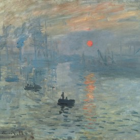 Claude Monet, Impression: Sunrise, 1873