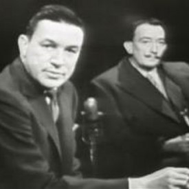 Mike Wallace and Salvador Dali