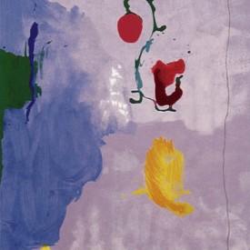 """Helen Frankenthaler, Eve, 75"""" x 50"""", acrylic on paper"""