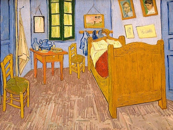 Vincent van Gogh, The Bedroom, 1888