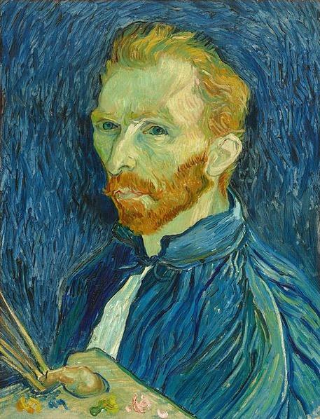 Vincent Van Gogh, self portrait, 1889