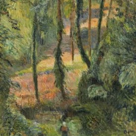 Paul Gauguin, Forest Interior (Sous-Bois), 1884