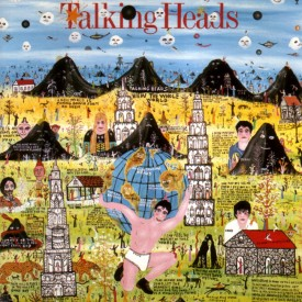 Talking Heads, Little Creatures, featuring artwork by Howard Finster