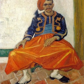 Vincent Van Gogh, Seated Zouave, 1888