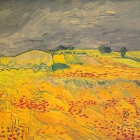Wheatfields, Vincent van Gogh, 1890
