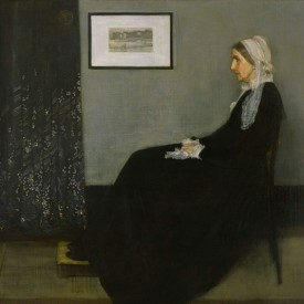 James Abbott McNeill Whistler, Arrangement in Gray and Black, No. 1, 1871