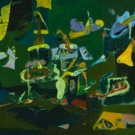 Arshile Gorky, Dark Green Painting, 1948