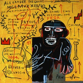 Jean Michel Basquiat, All Colored Cast (Part III), 1982
