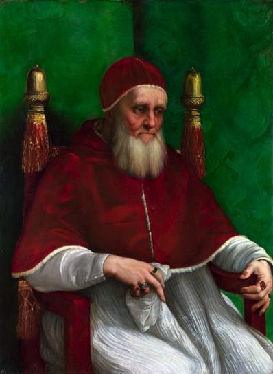 Raphael, Pope Julius II, 1511-1512