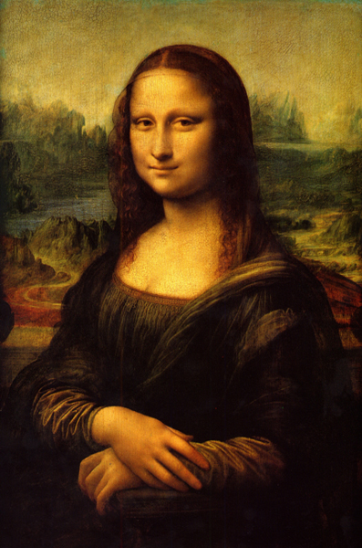 La Gioconda (popularly known as The Mona Lisa), Leonardo da Vinci, 1503-1517