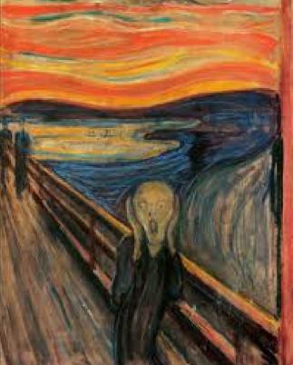 Edvard Munch, The Scream, 1883