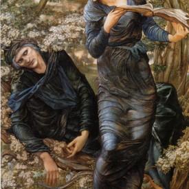 Edward Burne-Jones, The Beguiling of Merlin, 1872-1877