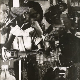 Romare Bearden, Train Whistle Blues II, 1964