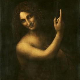 Leonardo, St. John the Baptist, 1513 - 1516