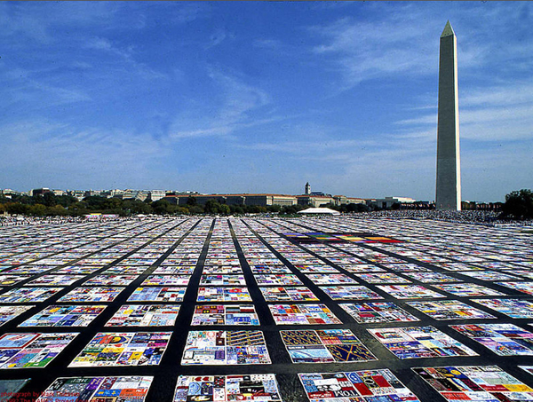 The NAMES Project AIDS Memorial Quilt, 1987-present