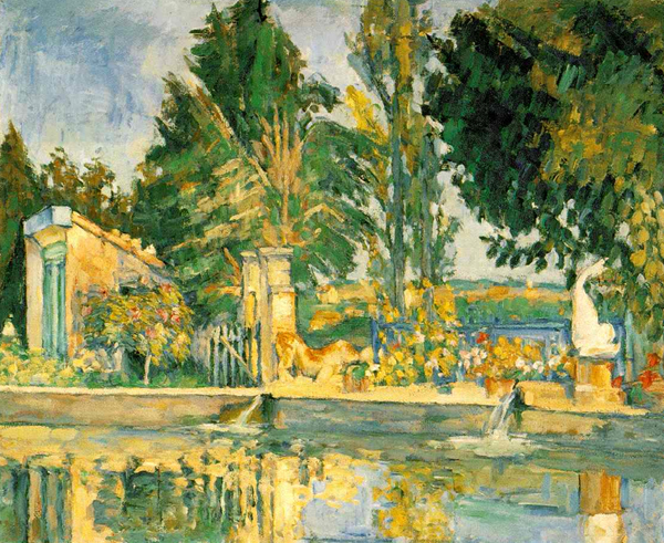 Paul Cezanne, The Pool, 1876