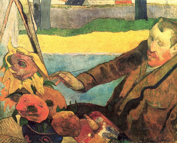 Paul Gauguin, The Painter of Sunflowers (Portrait of Vincent van Gogh), 1888
