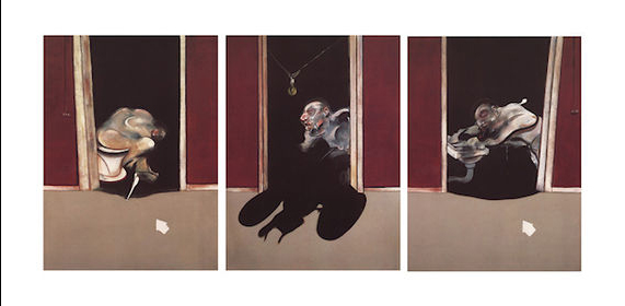 Francis Bacon, Triptych, May - June 1973, 1973