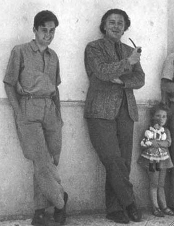Matta and Breton c. 1939