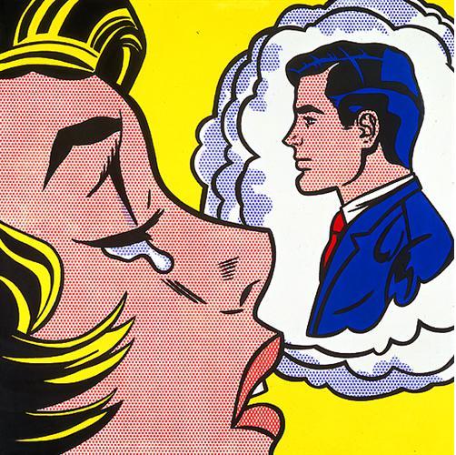 Roy Lichtenstein, Thinking of Him, 1963