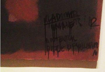 Vandalism of Mark Rothko's Black on Maroon