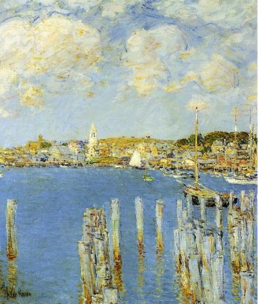 Childe Hassam, Gloucester Inner Harbor, 1899