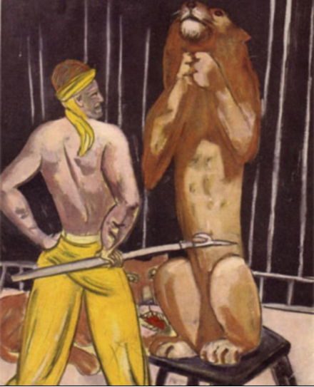 Max Beckmann, The Lion Tamer, 1930