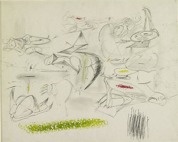 Arshile Gorky, Virginia Summer, 1946