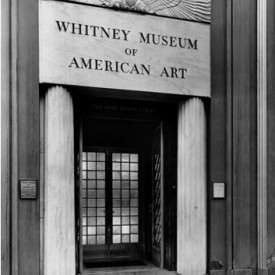 The Whitney Museum of American Art, 1931.