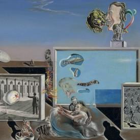 Salvador Dali, Illumined Pleasures, 1929