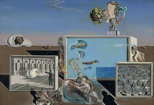 Salvador Dali, Illumined Pleasures, 1929
