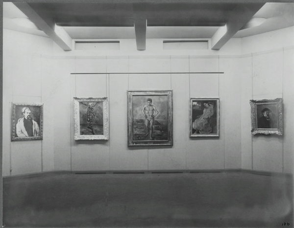 MoMA's first exhibition: Cezanne, Gauguin, Seurat, Van Gogh, 1929